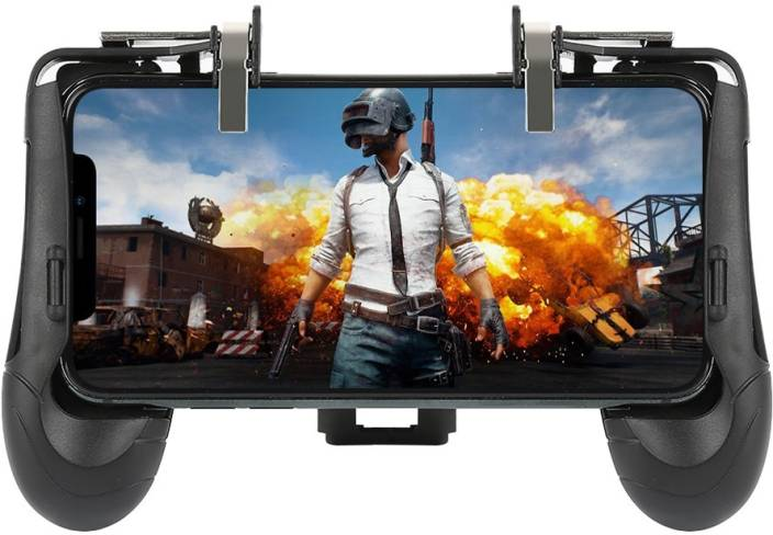 Oxhox PUBG Mobile phone gamepad and Controller Shooter Game Trigger Fire  Button For PUBG/Rules of Survival for Android,iOS all smart phone Gaming