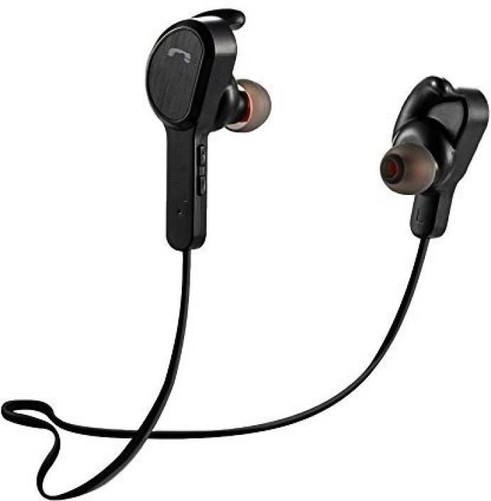 c0e7756219c KEMIPRO 4.1 Wireless Headphones Earphone Headset, Great for Gym Bluetooth  Headset with Mic (Black, In the Ear)