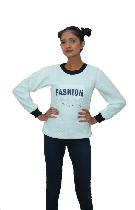 4f7ed7e408 Mraj Round Neck Solid Women s Pullover - Buy Mraj Round Neck Solid ...