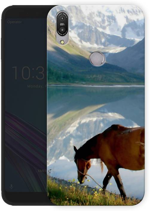 023a4b6e4f2 Uno Ark Back Cover for Asus Zenfone Max Pro M1 (horses and mountains, Hard  Case)