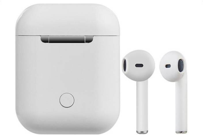 0c362eee224 MOBIASHTA Wireless Airpods Bluetooth Headset with Mic (White, In the Ear). SNOWBUDY  Best Buy Stereo sound powerful wireless airpods/earbuds compatible ...