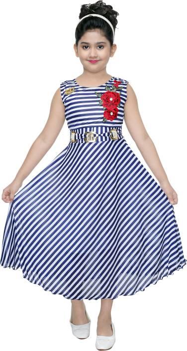 VASTRA FAB Girls Maxi/Full Length Party Dress