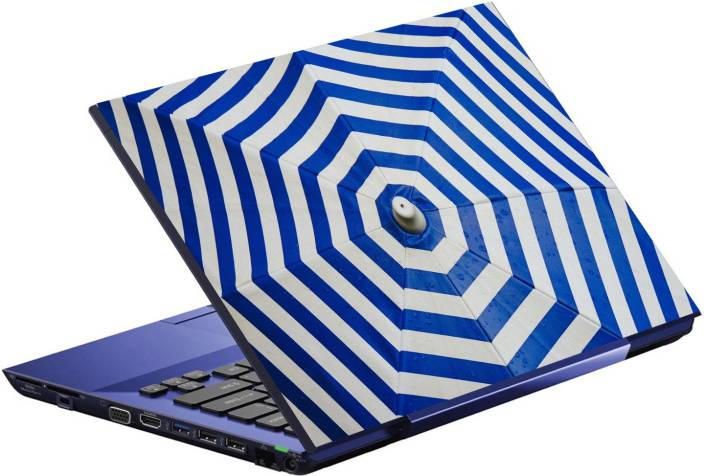 Imagination Era blue and white parasol umbrella blank