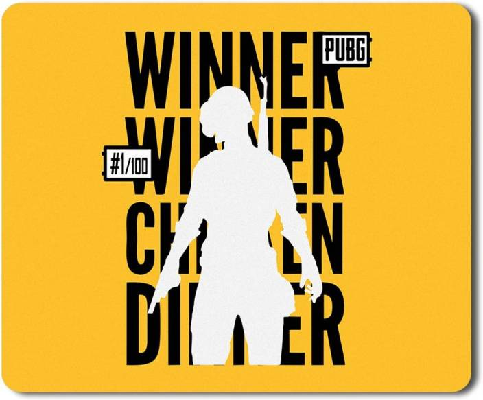 268e538761f3 Eagletail India PUBG – Winner Winner Chicken Dinner #20 Mousepad  (Multicolor)