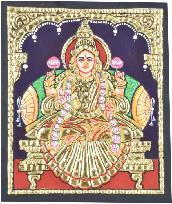 Mangala Art Ashta Lakshmi Indian Traditional Tamil Nadu