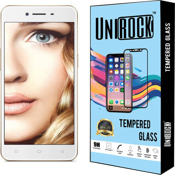 Unirock Tempered Glass Guard for OPPO A37f - Unirock