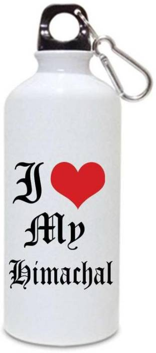 01e61912d0 Juvixbuy Printed i love my Himachal Water Sipper bottle ( Aluminium ) 750ml  780 ml Bottle (Pack of 1, Multicolor)