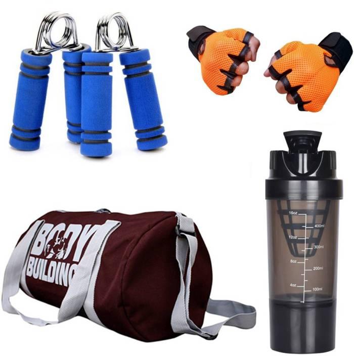 886edd8c75 Snipper Combo Of BodyBuilding (Wine) Gym Bag