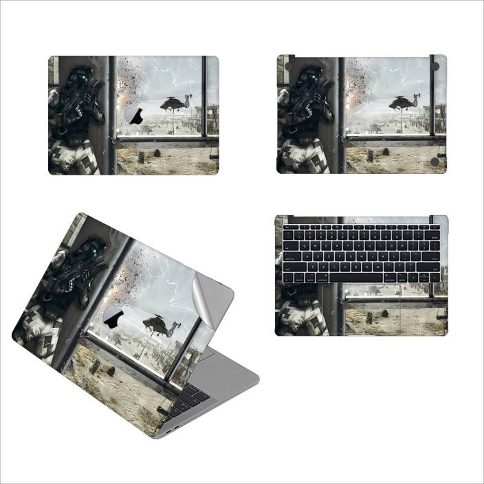 GADGETS WRAP GW 55192 Ghost Recon Future Soldier Classics Printed Top Bottom Inside Skin For Non Retina 13 Inch Vinyl Laptop Decal Price In India