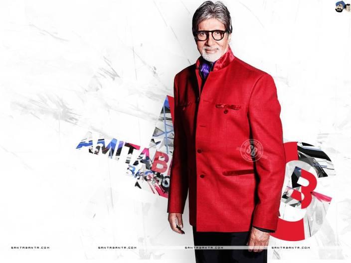 Chandigarh Graphic Super star Amitab Bachan HD Wallpaper Multicolor