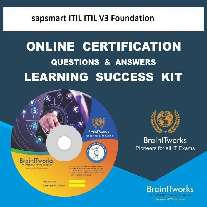 Sapsmart Itil Itil V3 Foundation Online Certification Learning Made
