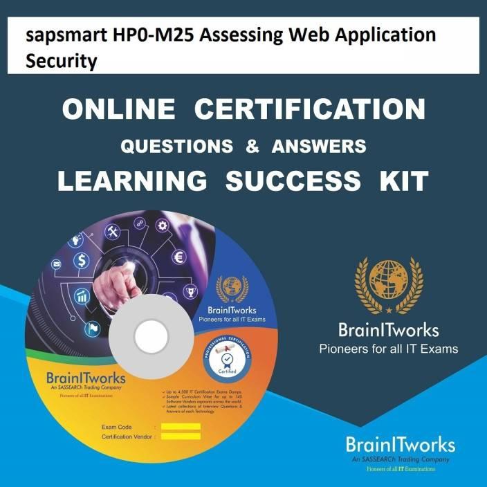 sapsmart HP0-M25 Assessing Web Application Security Online