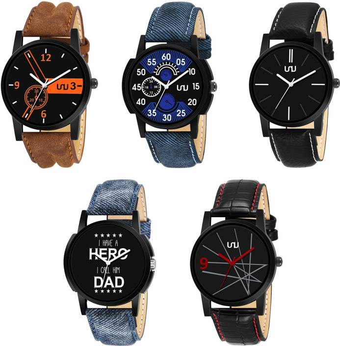 UNU Sett Of Five Couple Combo Watch - For Men