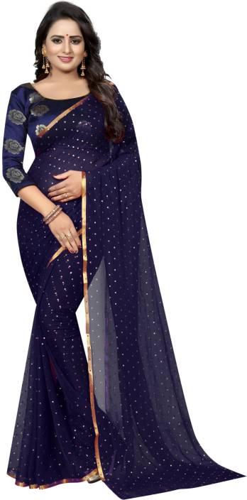 Gehna Saree Embellished Fashion Chiffon Saree