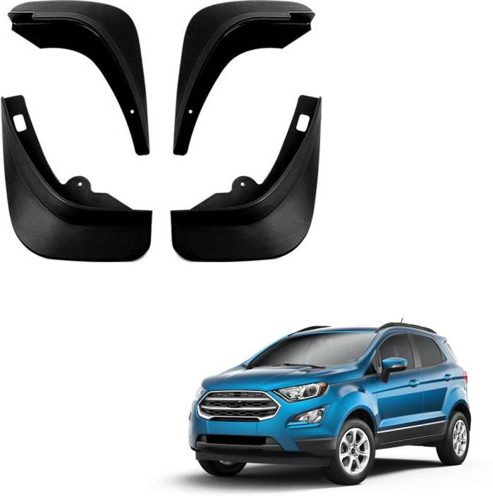 Autofurnish Front Mud Guard Rear Mud Guard For Ford Ecosport Na