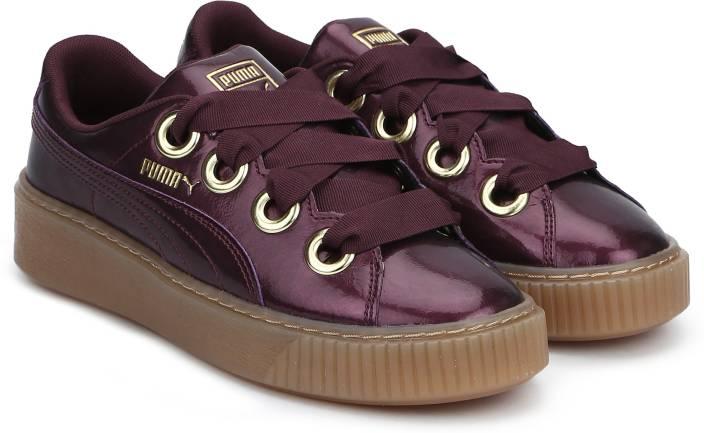 8e1359f8e9 Puma Basket Platform Kiss Anodized Jr Fig-Pum Sneakers For Women ...