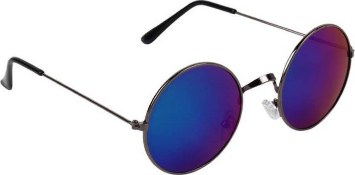 722e503222b Buy Briota Round Sunglasses Blue For Boys   Girls Online   Best ...