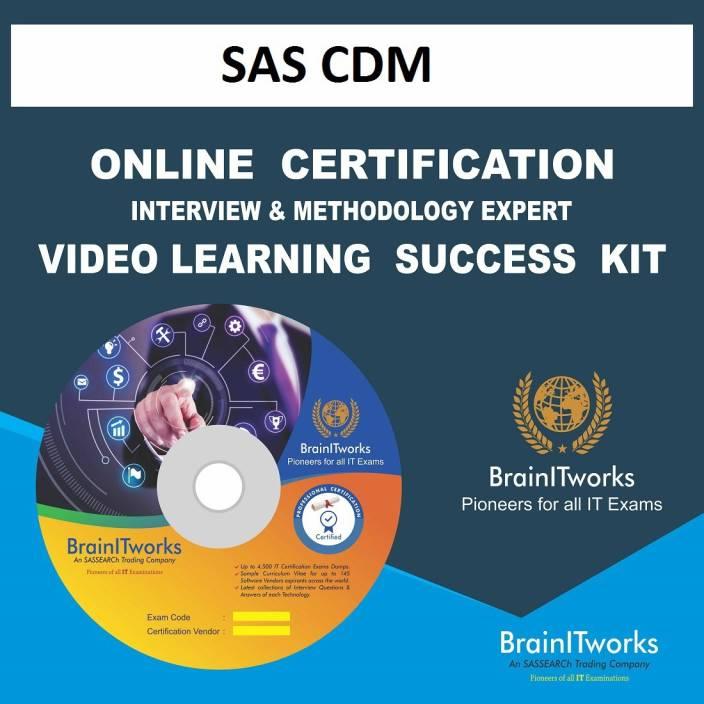 Sapsmart Sas Cdm Online Certification Learning Made Easy Sapsmart
