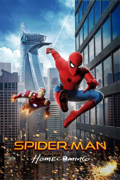 Official Spider-Man: Homecoming Ironman And Spiderman