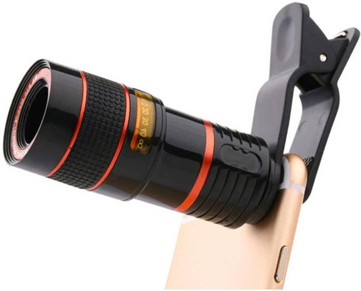 techobucks 8X Telephoto Lens Mobile Phone Zoom Clip on Universal