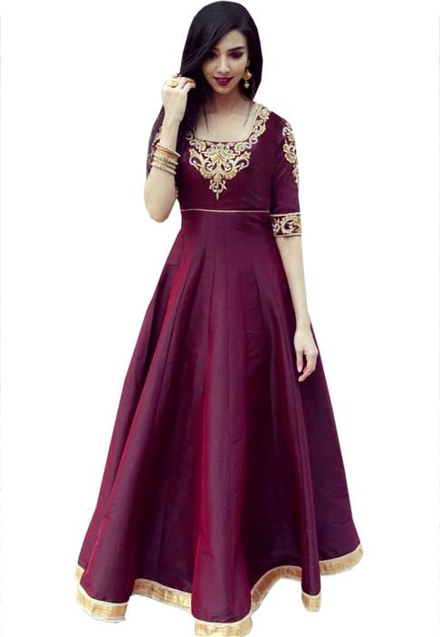 e6852dcf78 Greenvilla Designs Anarkali Gown Price in India - Buy Greenvilla ...