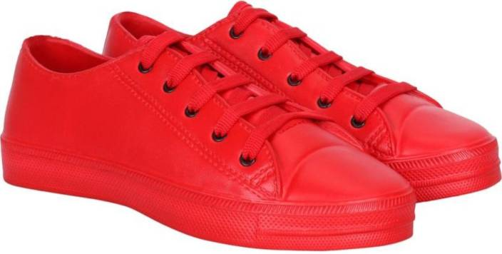 timeless design 86647 458a9 JBF Candico Causal Red Men's Shoe Slip On Sneakers For Men ...
