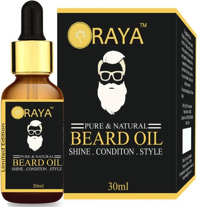 ORAYA Beard Growth Oil & Hair Growth Oil (100% Organic & Natural
