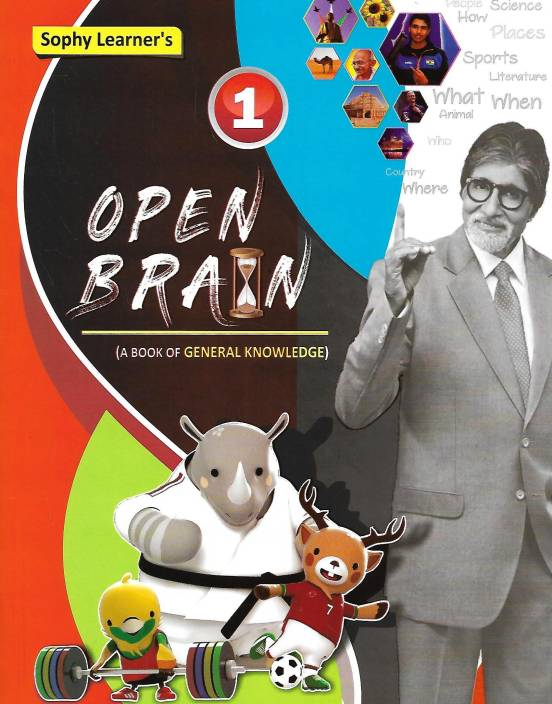 SOPHY LEARNER'S EDUCATION OPEN BRAIN WITH WORK BOOK (A BOOK