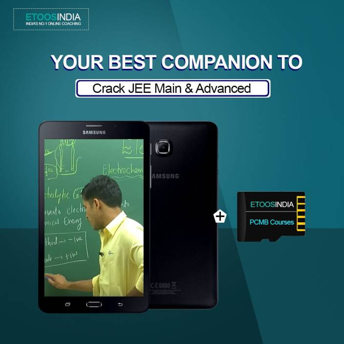 ETOOSINDIA Complete PCM package for JEE MAIN & ADVANCED with Tablet
