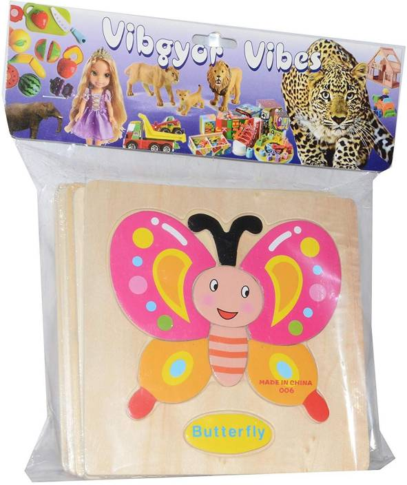 Vibgyor Vibes Early Age Wood Jigsaw Puzzles For Small Kids Children