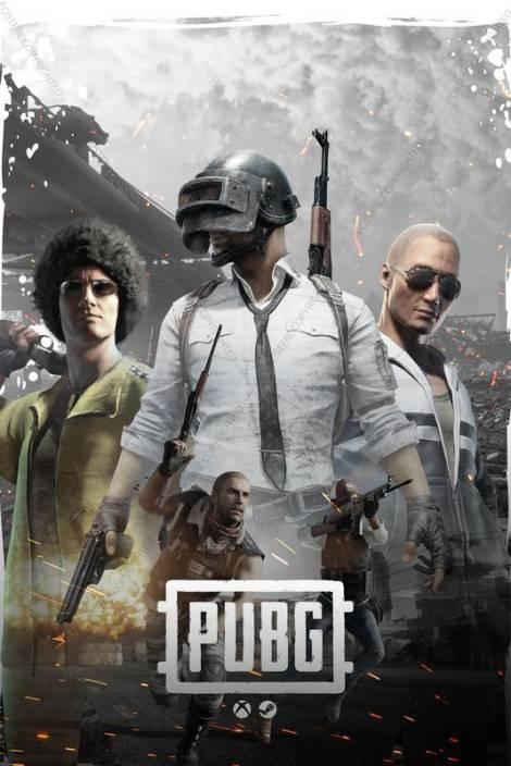 Official PUBG Art Of Kill Player Ready With Gun Premium