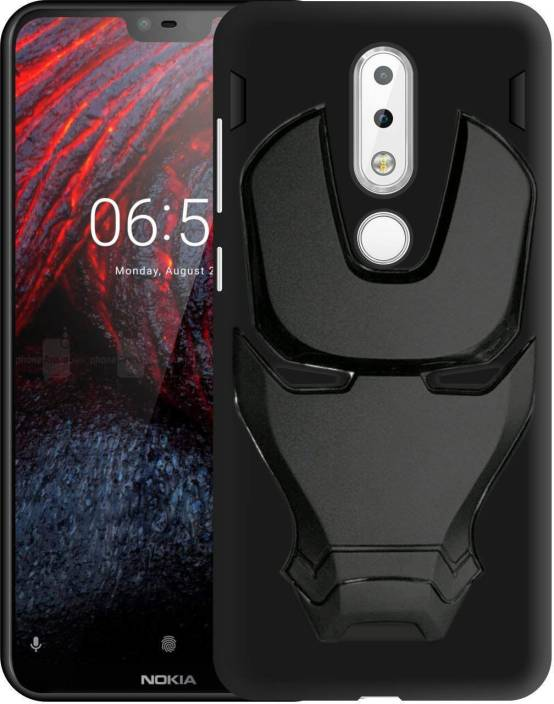 newest f1dd9 36cbc VAKIBO Back Cover for Nokia 6.1 Plus