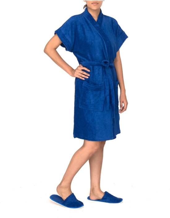 8b3644c2261 Rock Daniel Royal Blue Free Size Bath Robe