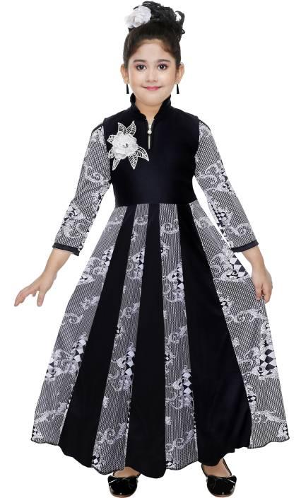 KAARIGARI Girls Maxi/Full Length Party Dress