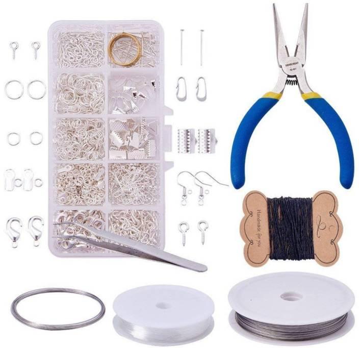 40cfa72d80d64 DIY Crafts Jewelry Making Kit Jewelry Findings Starter Kit Jewelry ...