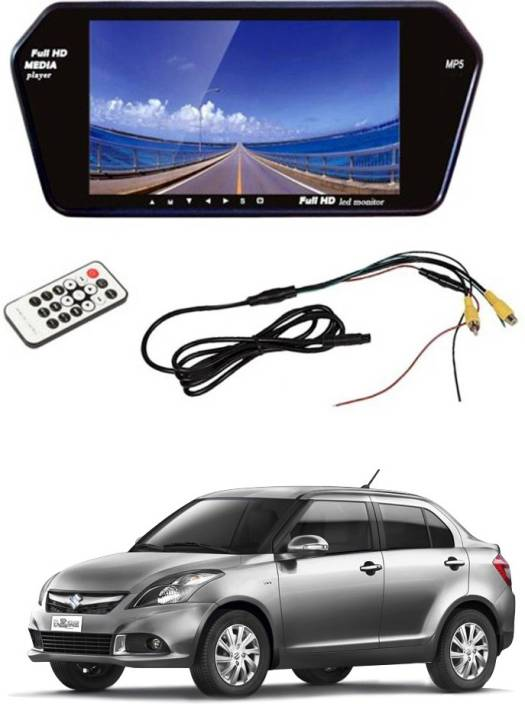 AYW AYW 7 inches Car Rear View Full HD Touch Mirror Mount Screen for