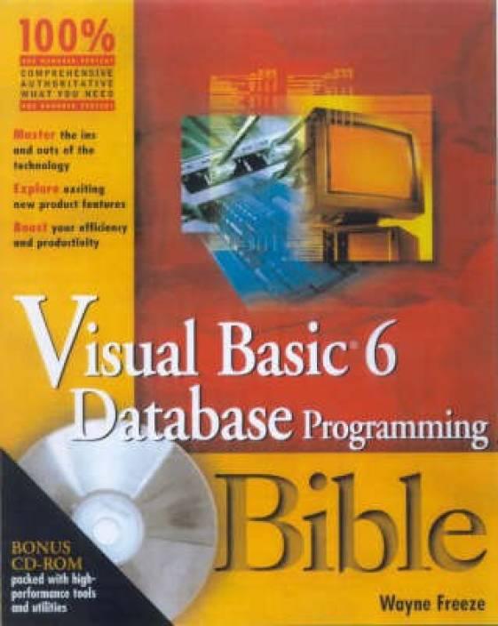 Visual Basic 6 Database Programming Bible: Buy Visual Basic