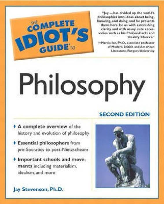 The Complete Idiot's Guide (R) to Philosophy: Buy The