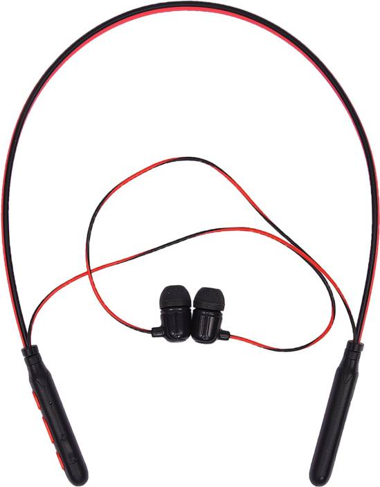 1b561370712 Helokuki Wireless Stereo HiFi Easy Simple Comfort Compact HKB-75 Bluetooth  Headset with Mic (Red, In the Ear)