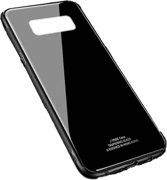 the latest a593d c97eb Mobikit Back Cover for Samsung Galaxy Note 8 Luxury Toughened Glass ...