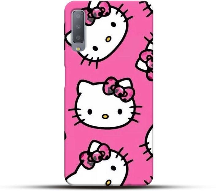 Pikkme Back Cover for Hello Kitty Samsung Galaxy A7 2018