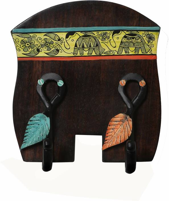 Artysta Multi Functional Wooden Cup Holder Wall Hanging Teacoffee