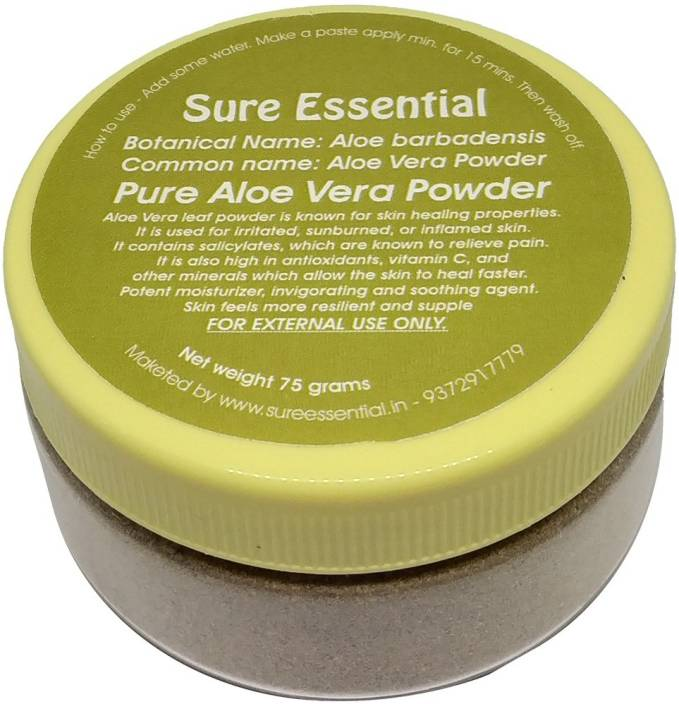 sure essential Pure Aloe Vera Powder (Chemical Free) - Price