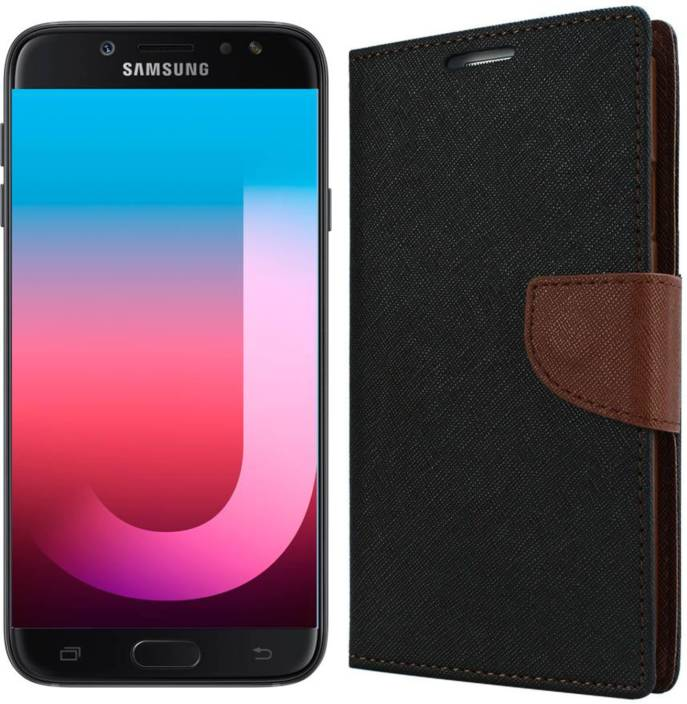 15be4c4dfb9 Dgeot Wallet Case Cover for Samsung Galaxy J7 Pro (Black