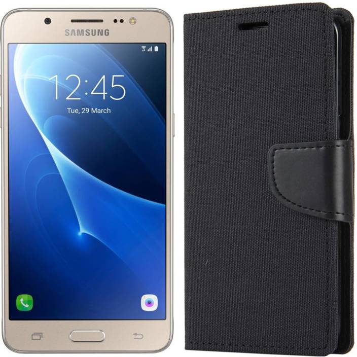 outlet store b8944 547ce Dgeot Wallet Case Cover for Samsung Galaxy J5 - 6 (New 2016 Edition ...