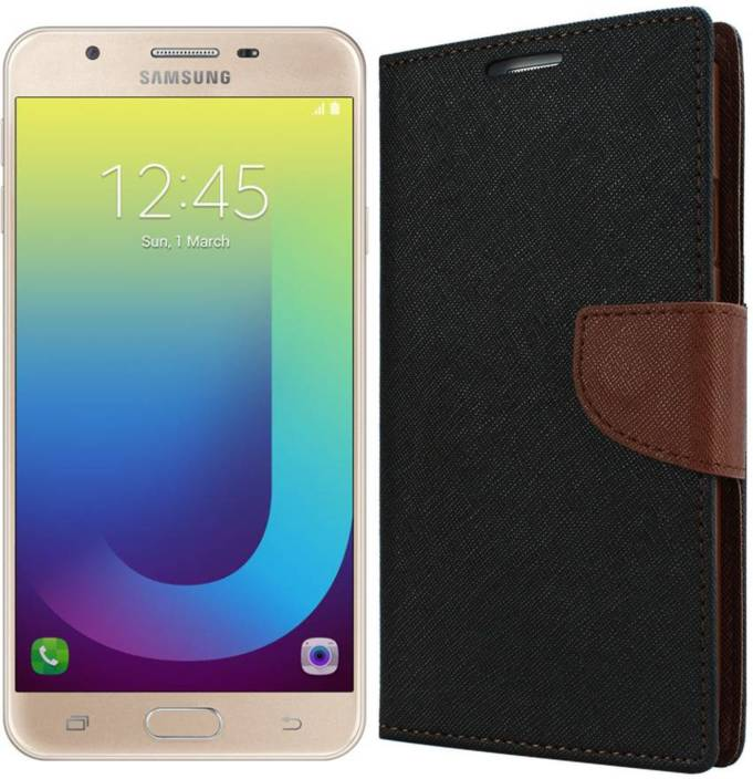 7868699612f Dgeot Wallet Case Cover for Samsung Galaxy J7 Prime (Gold