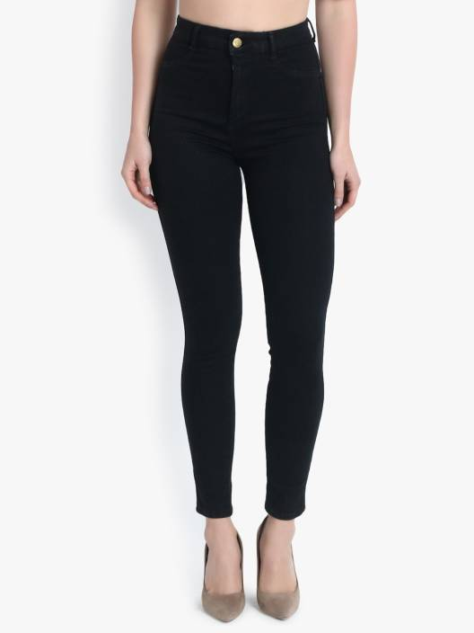 Kotty Skinny Women Black Jeans