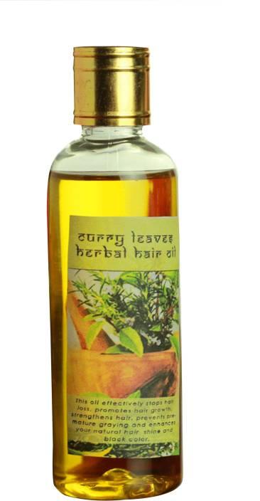 Tjori Curry Leaves Herbal Hair Oil For Hair Growth Hair Loss Hair