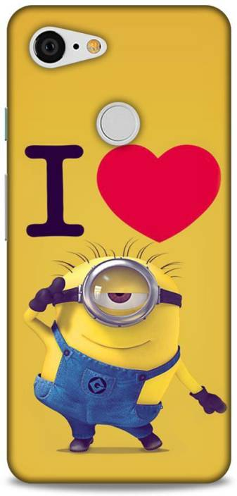Mapple Back Cover For Google Pixel 3 Minions Printed