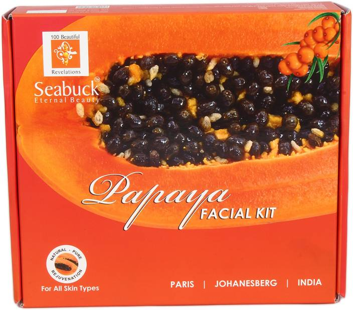 e6dfa760ee34e Seabuck 100% Natural Papaya Facial Kit (5 Jar - 500 gm) 2500 g ...